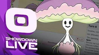 Shiinotic  - (Pokémon) - Pokemon Sun and Moon! Showdown Live: Enter Shiinotic - Shiinotic Showcase!