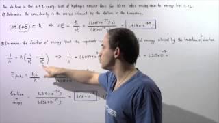Heisenberg Uncertainty Principle Example # 2