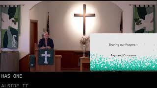 Worship in Church – 2/7/2021
