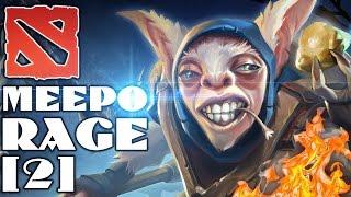 Dota 2 Meepo Rage #2 - Сборка в демедж (Лопата смерти) xD