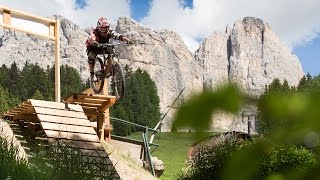 A video overview of the fun flow trail at Carezza.