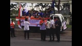 Konvoi Kendaraan JNE Jember Memperingati Hari Pelanggan Nasional 2016 With Musik Patrol ARTAL