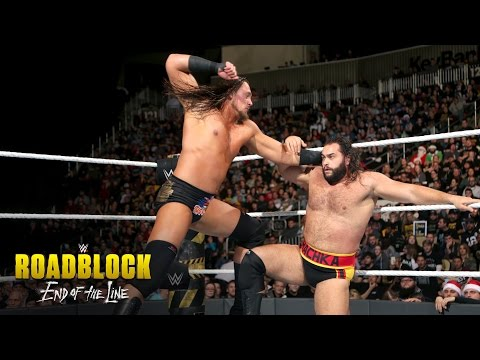 Big Cass vs. Rusev: WWE Roadblock: End of the Line 2016 Kickoff Match on WWE Network