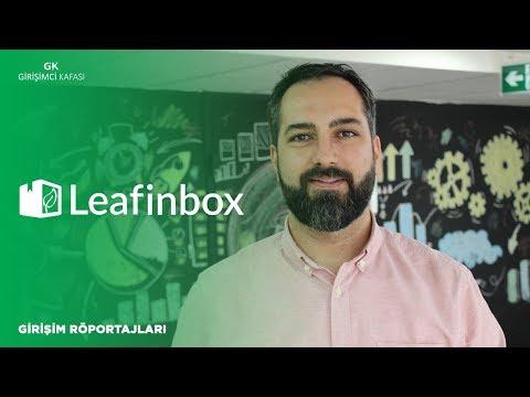 Leafinbox: Bulut tabanlı belge yönetimi platformu [Girişim Röportaj]