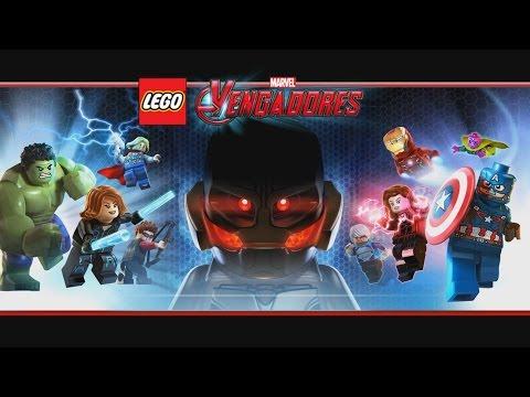 LEGO Marvel Vengadores La Era De Ultrón Pelicula Completa Español - Todas Las Cinematicas Game Movie