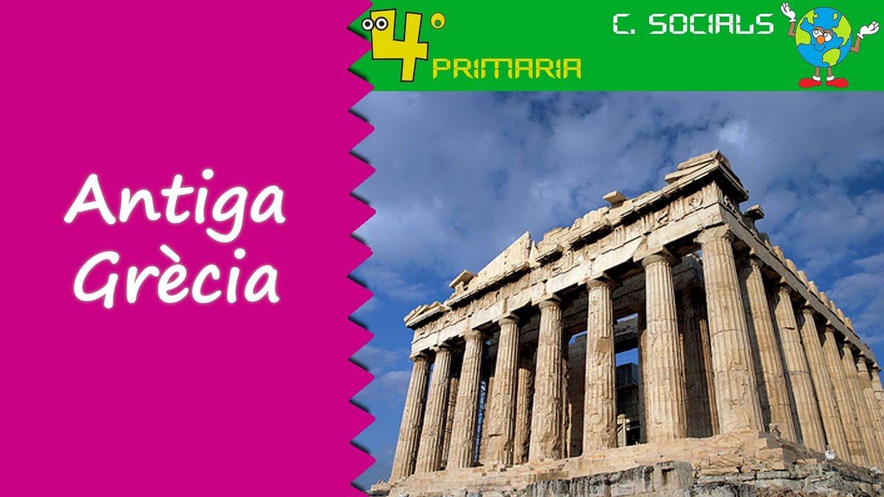 Ciències Socials. 4t Primària. Tema 8. La civilització grega
