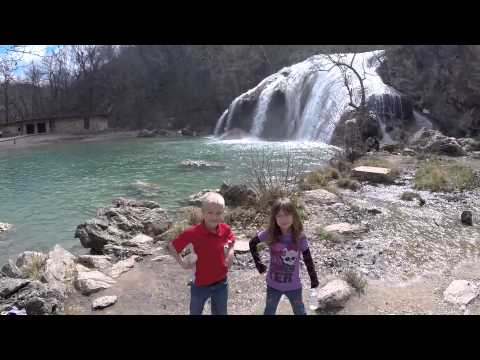 Uber Man Takes the Kids to Turner Falls, OK