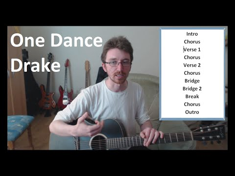 One Dance - Drake - How To Play - Basic Guitar Chords