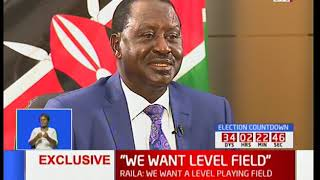 Raila Odinga: We call Peter Munya and Isaac Ruto casualties of the struggle