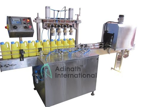 Automatic Multihead Screw Capping Machine
