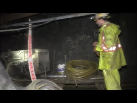 Guy exploring an old abandoned mine. -7 hours in he discovers people working in an adjoining modern mine.
