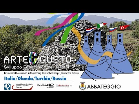 Preview video Arte&Gusto 2014 Abbateggio