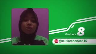 Merdunya suara Mutiara Mitra Grab asal Kudus - Top 10 Grab Idol