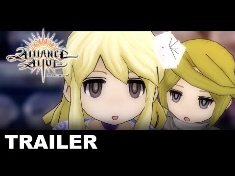 The Alliance Alive HD Remastered - Unlikely Heroes - Character Trailer (PS4, Nintendo Switch, PC) thumbnail