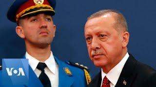 Turkey's President Erdogan Meets Balkan Leaders as Turkish Military Arrives at Syria Border