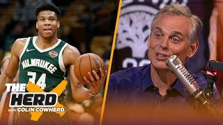 Who will replace Warriors as NBA's next dynasty? Colin Cowherd gives his take | NBA | THE HERD
