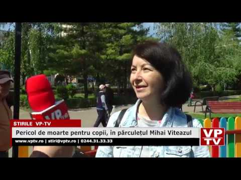 Pericol de moarte pentru copii, în părculețul Mihai Viteazul