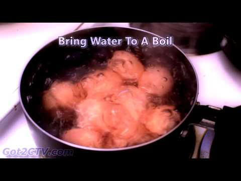 How Long To Boil Eggs. Hard Boiled.