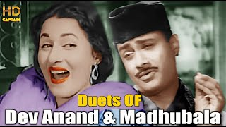Duets Of Dev Anand And Madhubala Superhit Songs | Superhit Hindi Purane Gaano Ka Collection