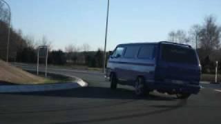 T3 VR6 Bus im Drift