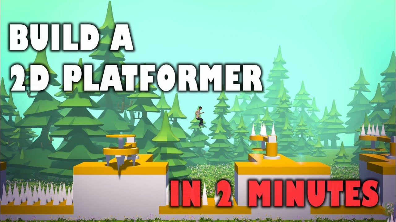Build a 2D PLATFORMER in 2 minutes in CREY!