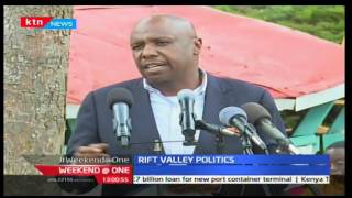 Weekend @ One: Gideon Moi asks Kalenjin leaders not to be Jubilee sycophants