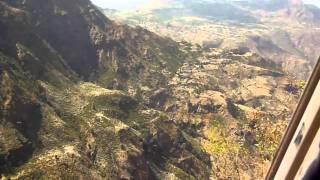 Driving to Debark, Gondar, through the Simien Mountains