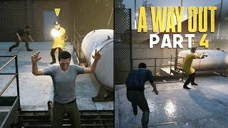ULTIMATE STEALTH ATTACK - A Way Out - Part 4 (Prison Break Escape Game)