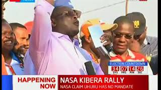 Vihiga Senator George Khaniri throws his weight behind Raila Odinga in the coming fresh polls