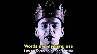 Depeche Mode - Enjoy The Silence Subtitulos Inglés y Español