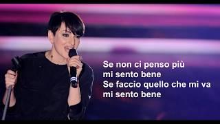Arisa   Mi Sento Bene   Testo   Lyrics