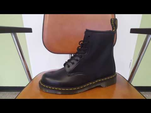 Dr. Martens Smooth Black 1460 Schuhe 8-Loch Stiefel Boots Schwarz  Overview    Review   Outlet46.de