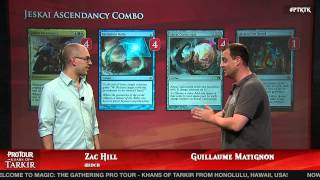 Pro Tour Khans of Tarkir Deck Tech: Jeskai Ascendancy Combo with Guillaume Matignon
