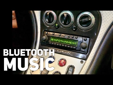 How to Add Bluetooth Music Streaming to a Maserati Becker Infotainment Stereo