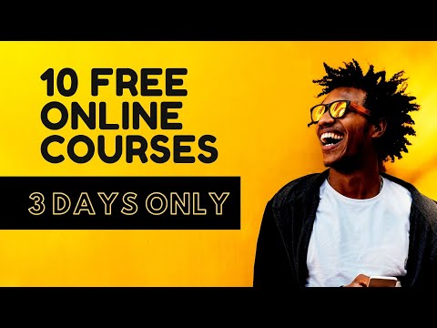 Here Are 10 Free Online Courses - YouTube