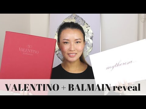 VALENTINO Rockstud Shoes and BALMAIN tee reveals | Sizing tips, mod shots | Isabelle Ahn