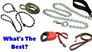 The 6 Types Of Dog Leashes. Which Type Should You Be Using For Your Dog?