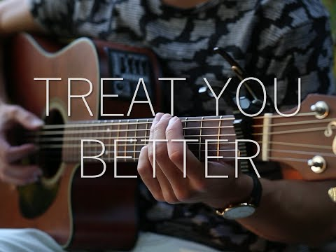 (Shawn Mendes) Treat You Better - Fingerstyle Guitar Cover (with TABS)