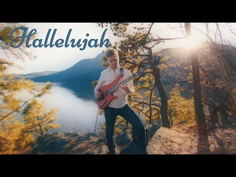 Charles Berthoud - Hallelujah (Solo Bass Cover)