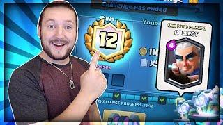 12 WIN MAGIC ARCHER CHALLENGE!! New Legendary Unlocked! Clash Royale Magic Archer Gameplay