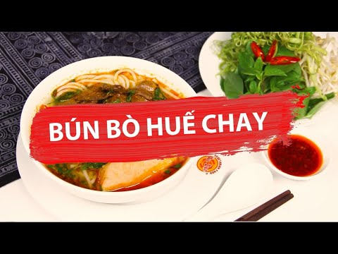 ✅ BÚN BÒ HUẾ CHAY - Món ngon Au Lac Vegan
