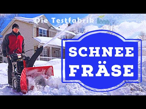 ☃️ Schneefräse Test (2020) – 🏆 Der beste Schneepflug