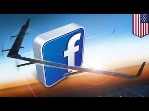 Фэйсбук обеспечит миллиарды жителей доступом к интернету с помощью дрона