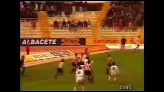 Albacete 1 Bilbao Athletic 1. Temp 90/91. Jor. 27