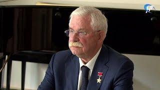 Область посетил вице-президент России в 1991-1993 гг. Александр Руцкой