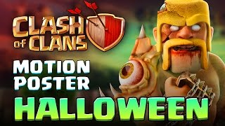 Clash Of Clans MOVIE 2016  HALLOWEEN 3D Motion Poster