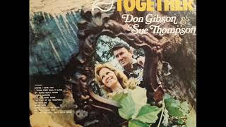 Sue Thompson & Don Gibson - My Tears Don't Show (1973)