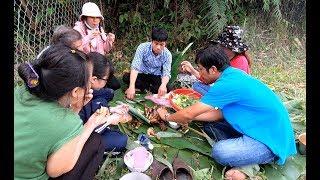 Ăn Gà Nướng Sóc Nướng sau vườn - Hương vị đồng quê - Bến Tre - Miền Tây