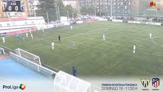 R.F.F.M. - Jornada 12 - Primera Infantil (Grupo 12): C.D. Canillas 4-0 A.D. Villa Rosa.