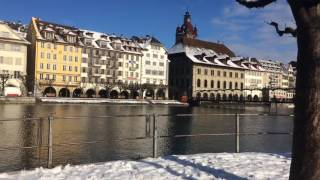 スイス発 ルツェルンロイス川沿いを散歩【スイス情報.com】